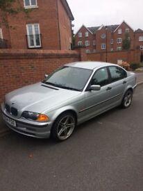 Silver BMW 1.9