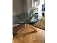 Heavy dining room table for sale. Selling as I've a new kitchen coming and no room