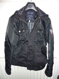 ARMANI JEANS Men Coat Jacket (genuine)