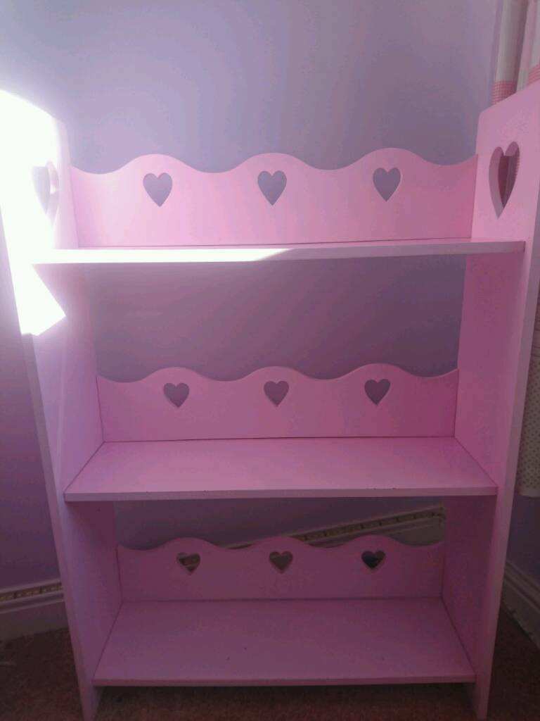 Childrens furniture pink girls book shelfin Norwich, NorfolkGumtree - Good condition, light scuffs as shown in picture. Collection only
