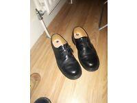 dr martens black shoes