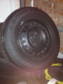 Vauxhall corsa wheel