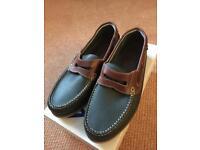 Men's M&S boat shoe, size 8