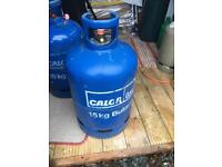 Calor 15 kg gas bottle with some gas still in it £20