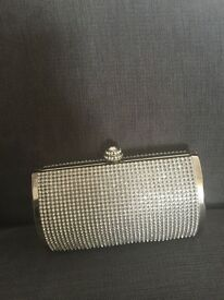 Diamanté clutch bag small perfect wedding prom