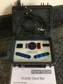 Kewtec FC2000 multimeter check box