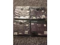 Brand new - 4 x Black Rain Poncho's