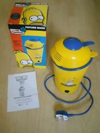 The Simpsons Popcorn maker/dispenser