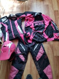 Ladies motorcross clothing