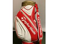 TAYLORMADE 2017 BRITISH OPEN STAFF BAG – GOOD CONDITION
