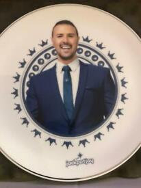 Paddy McGuinness plate