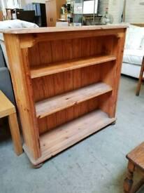 Pine 3 tier bookcase