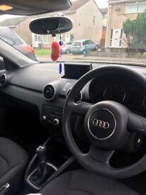Beautiful Shiraz Red Audi A1