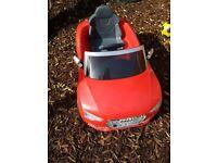 Childrens Audi electric car