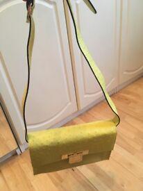 Kurt Geiger ostrich bag