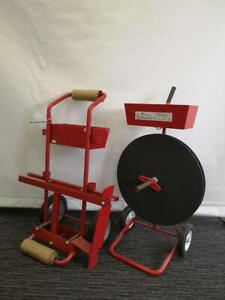 Strapping Cart/Strap Dispenser - Brand New - Samuel - Only $349!