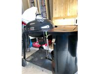 Charcoal BBQ with surround for sale