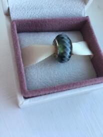 Genuine glass pandora charm - green
