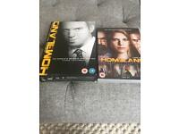 Homeland Seasons 1-3 DVD