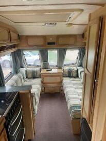 Elddis odyssey 505 4 berth caravan