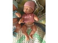 16 inch twin baby dolls boy / girl