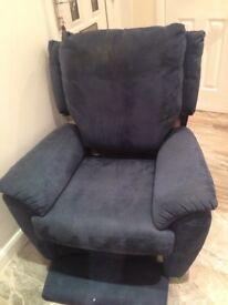 Free reclining chair