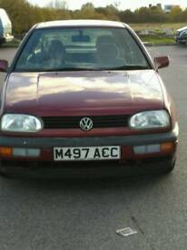 VW Golf GL for sale