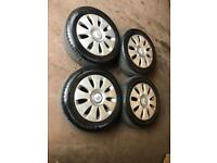 Audi 16 Inch alloys and tyres 5x112 stud pattern