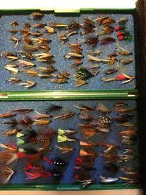 X125 Trout : Sea-trout flies ( boxes )