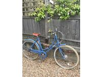(Much loved) poppy pashley bicycle needs a new home. Great price and offered with premium bike locks