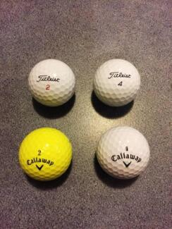 Golf balls - just in time for the weekend