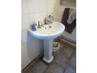 Toilet pan and traditional vintage Shanks cistern - not close-coupled , not back-to-wall