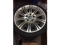 "BMW 18"" MV2 alloys"
