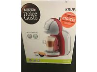 Dolce Gusto Coffee Machine (Brand New)