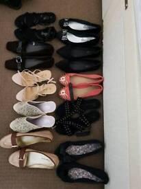 Bundle of Ladies shoes size 7