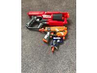 3x nerf guns absolute bargain mint no bullets