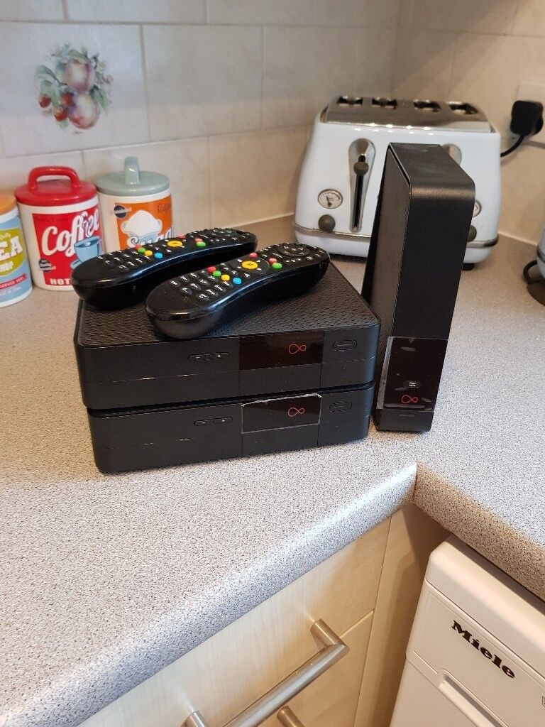 Boxs router and remotes