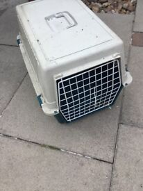 Plastic Cat or dog transport box