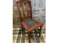 Wooden traditional chair