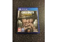 PS4 Call of Duty WW2 (WWII)