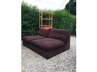 John Lewis sofa - seats 3 comfortably