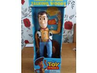 DISNEY PIXAR, RARE TALKING WOODY