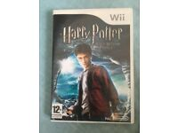 Harry Potter and The Half Blood Prince and Just Dance 'Best off' Nintendo Wii Game