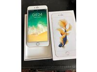 Apples IPhone 6s Plus 64gb Rose Gold very nice with receipt
