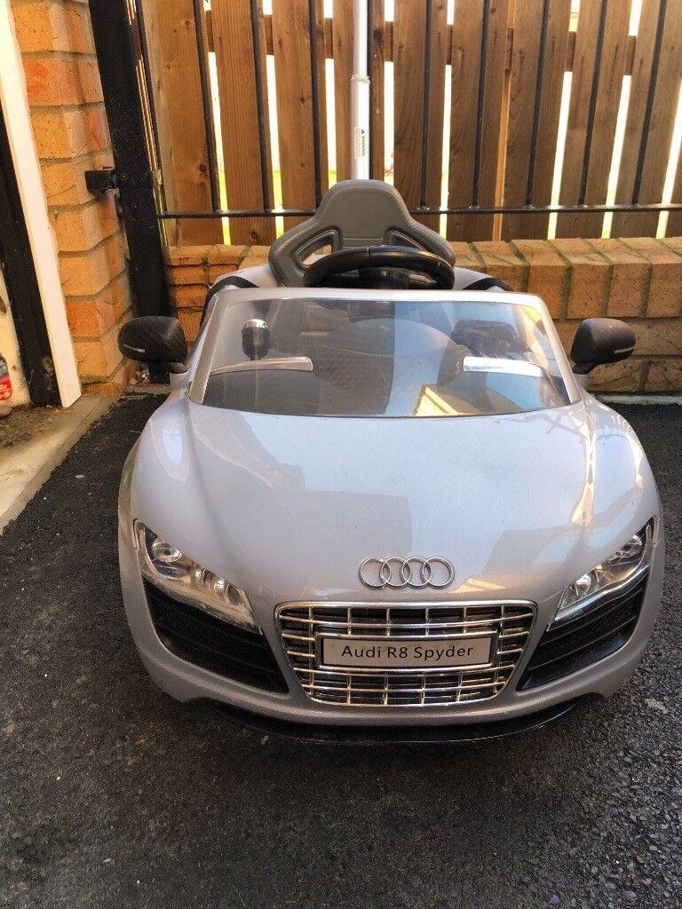 Push Car Buggy Silver Audi R8 Spyder | in Easington Lane, Tyne and