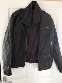 Genuine Superdry leather jacket