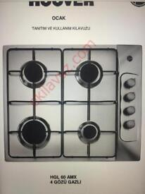 Hoover Gas Hob Brand New