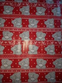 GIFT WRAPPING PAPER - ME 2 YOU - CARTE BLANCHE -15 x ROLLS - NEW