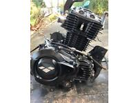 Lexmoto venom 125cc running engine