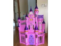 Princess castle complete with Prince Charming and 8 princesses